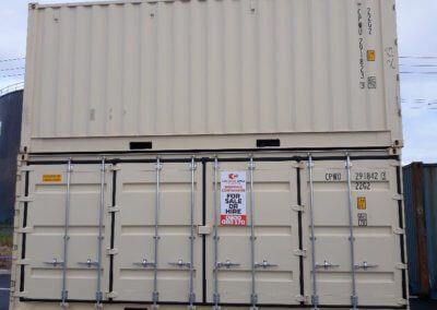 Container Space - Side opening Shipping Container