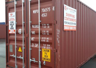 Container Space - Shipping Container 40 foot