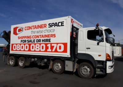 Container Space - Shipping Containers for sale and hire, Shipping Container Transport